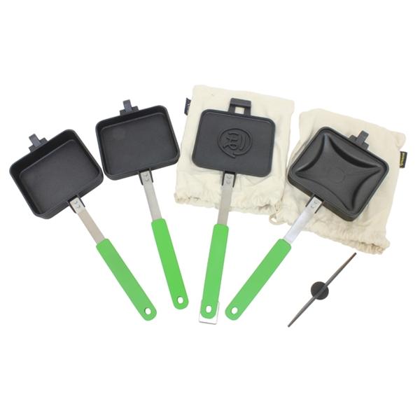 tent-Mark DESIGNS マルチホットサンドメーカー&プレスパッドセット