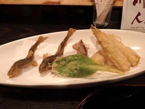 05稚鮎ホタルイカヤングコーン天ぷら