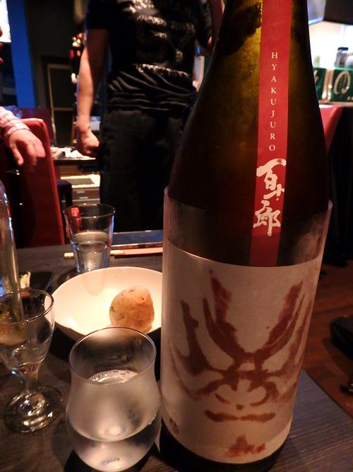 78大辛口純米酒百十郎赤面