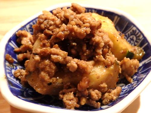 23加賀太胡瓜の麻婆炒め
