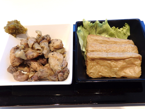 36鶏炭火焼太刀魚天