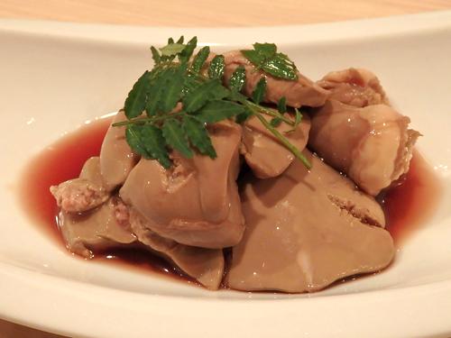 06大山鶏とろける肝の煮付け