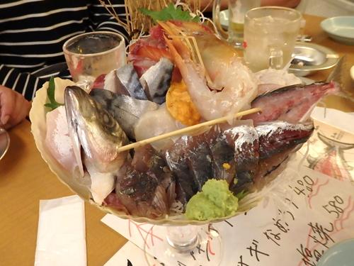 58海鮮パフェ