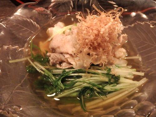07豚バラと水菜旨煮