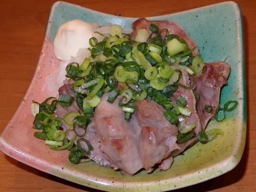 08仙台牛タン風豚タン焼きねぎのせ