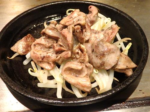 04鶏心塩焼き