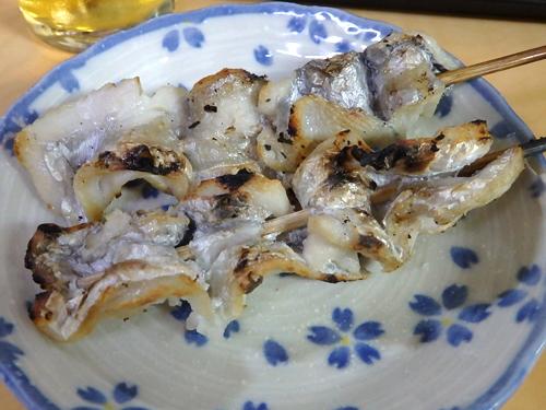 27たち魚串焼