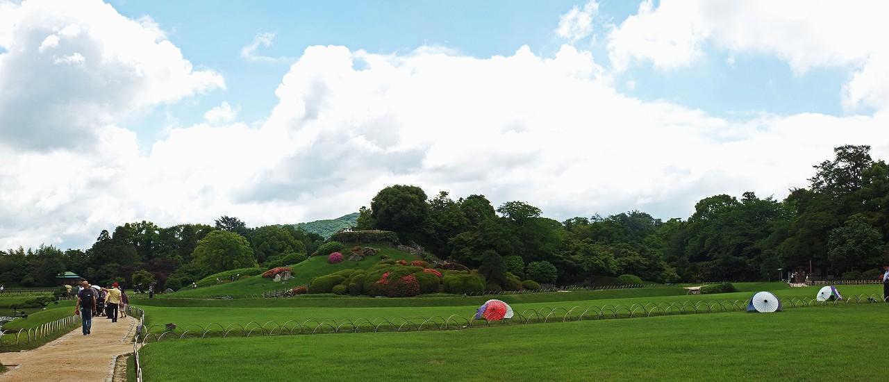 s-20160530 後楽園今日の園内ワイド風景 (1)