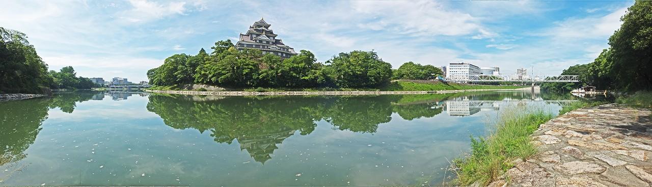 s-20160702 7月の旭川水辺の回廊ワイド風景 (1)