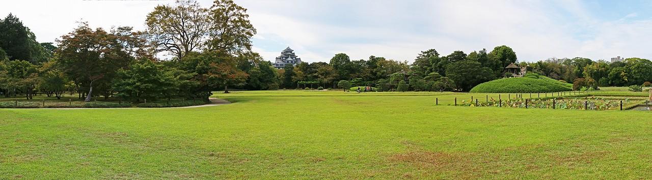 s-20161013 後楽園今日のイベント広場園内ワイド風景 (1)