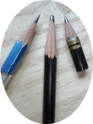 鉛筆削りと刃物研ぎ