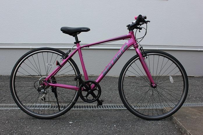 2016.9自転車を新しく買いました