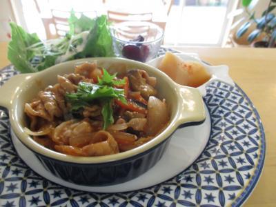 豚肉と野菜の中華風あんかけ