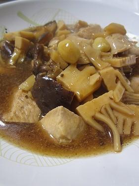 20160422 鶏肉と筍の豆鼓煮