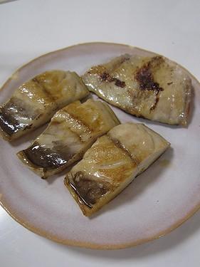 20160506 伊豆の塩サバと金目鯛味噌漬け (2)