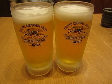 20160528 (9)和幸 生ビール