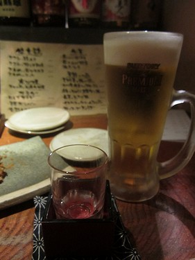 20160604串工房 (28)生ビール