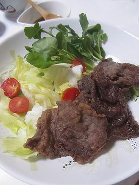 20160724 牛肉の竜田揚げ
