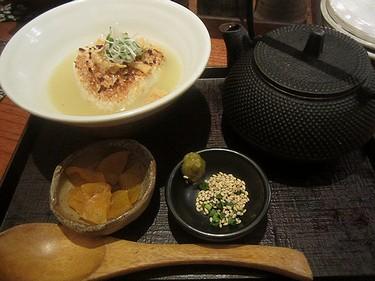 20160903串工房 (18)焼おにぎり鶏スープ