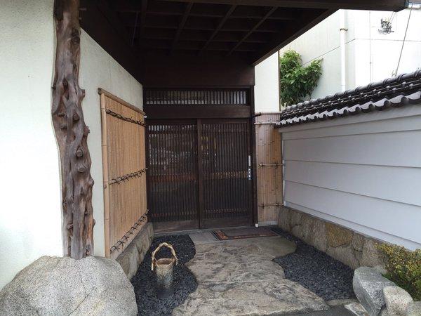 健寿司玄関