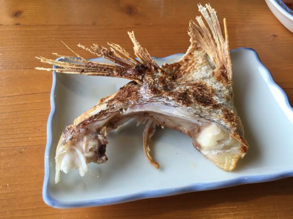 鯛の兜焼きカマ5