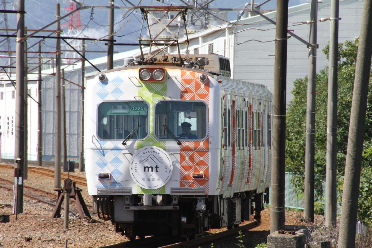 富士山隠れスポットラップ電車1