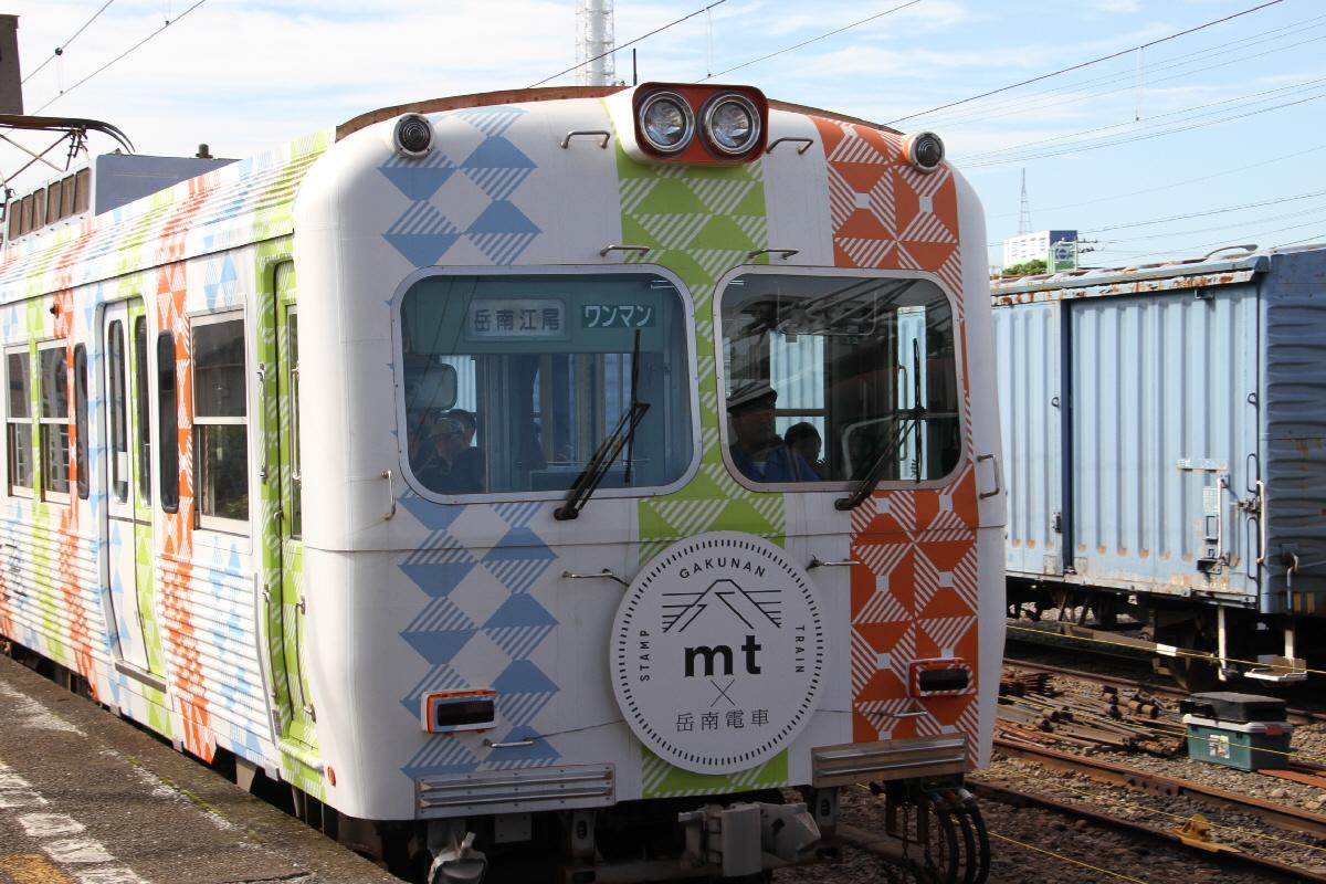 富士山隠れスポットラップ電車2