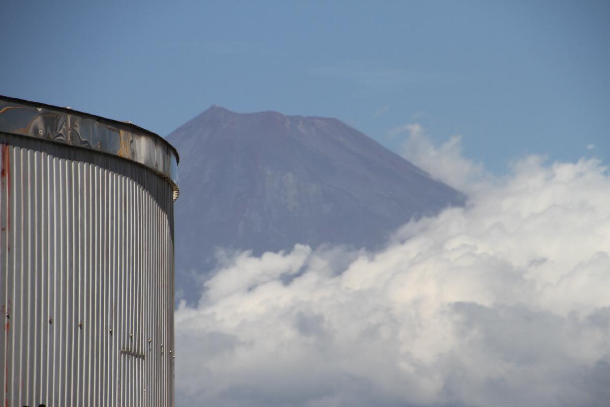 富士山隠れスポットラップ電車7
