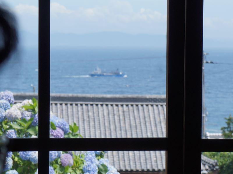 海の見える景色