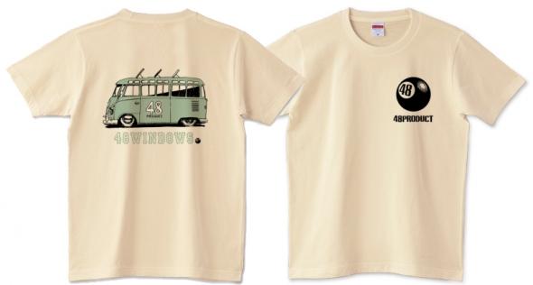 VW バス Tシャツ