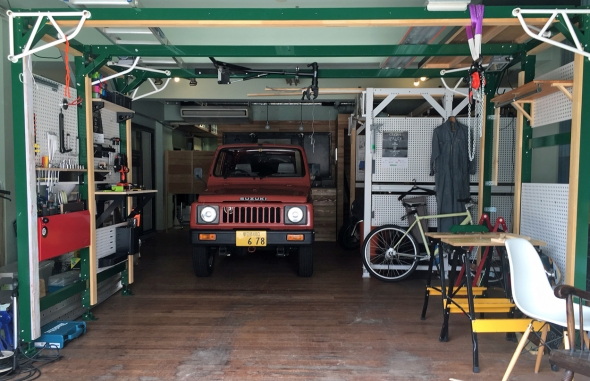 jimny garage