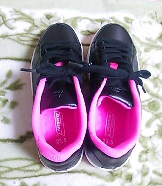 新しい仕事靴