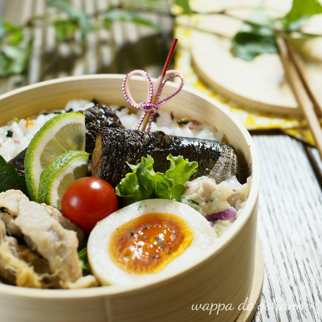 秋刀魚のわた焼き弁当