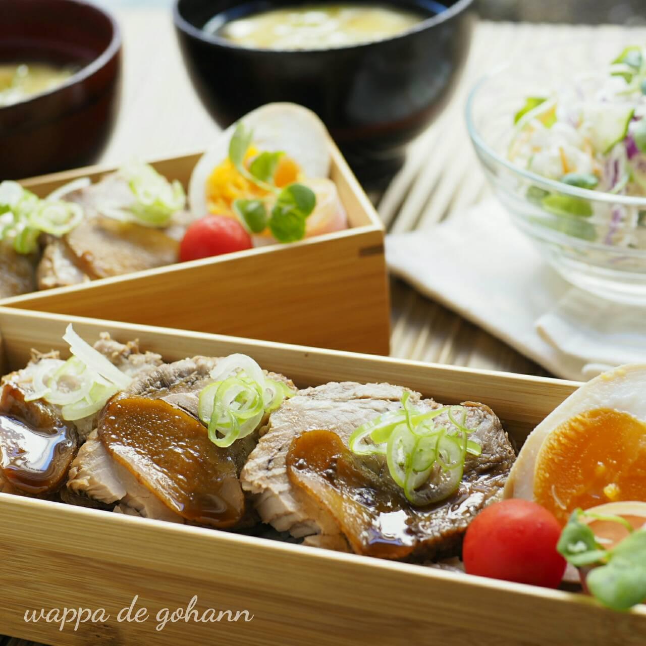 煮豚肉丼弁当