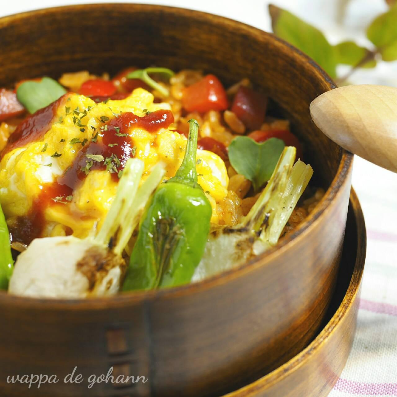 トロトロ卵のオムライス弁当