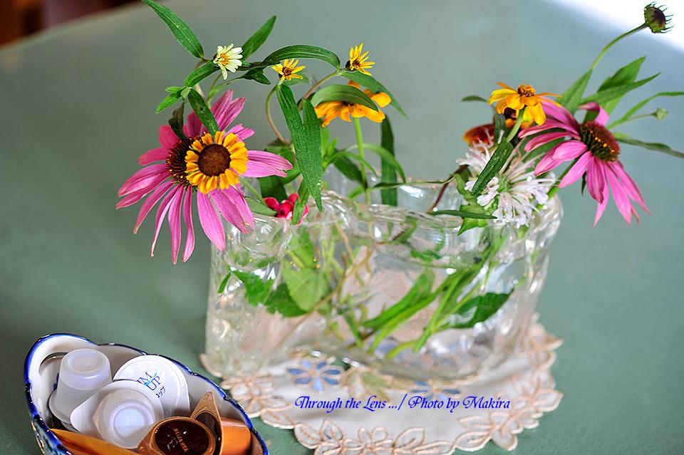 テーブル花4