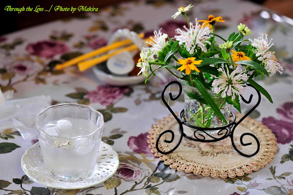 テーブル花6