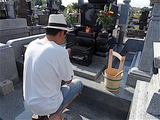 0813墓参り1