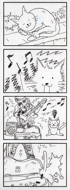 猫とミュージシャン