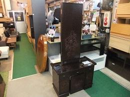 鎌倉彫3面鏡 (3)