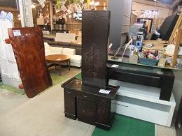鎌倉彫3面鏡