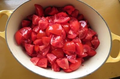 トマトピューレざく切り