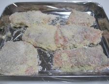 生鮭のピーマン詰めフライ 調理⑤