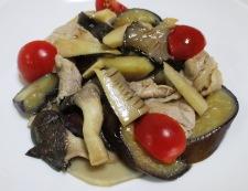豚肉とナスのポン酢炒め 調理⑥