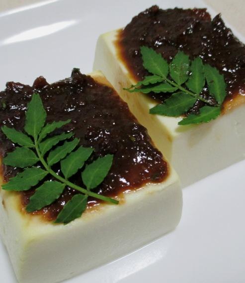 豆腐の木の芽味噌 B