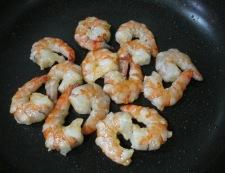 海老と卵の炒め物 調理③
