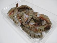 海老と卵の炒め物 材料①