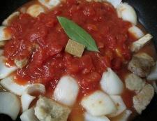 豚ロースのトマト煮 調理④