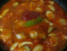 豚ロースのトマト煮 調理⑤