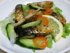 ローズマリー塩サバのサラダ 調理④